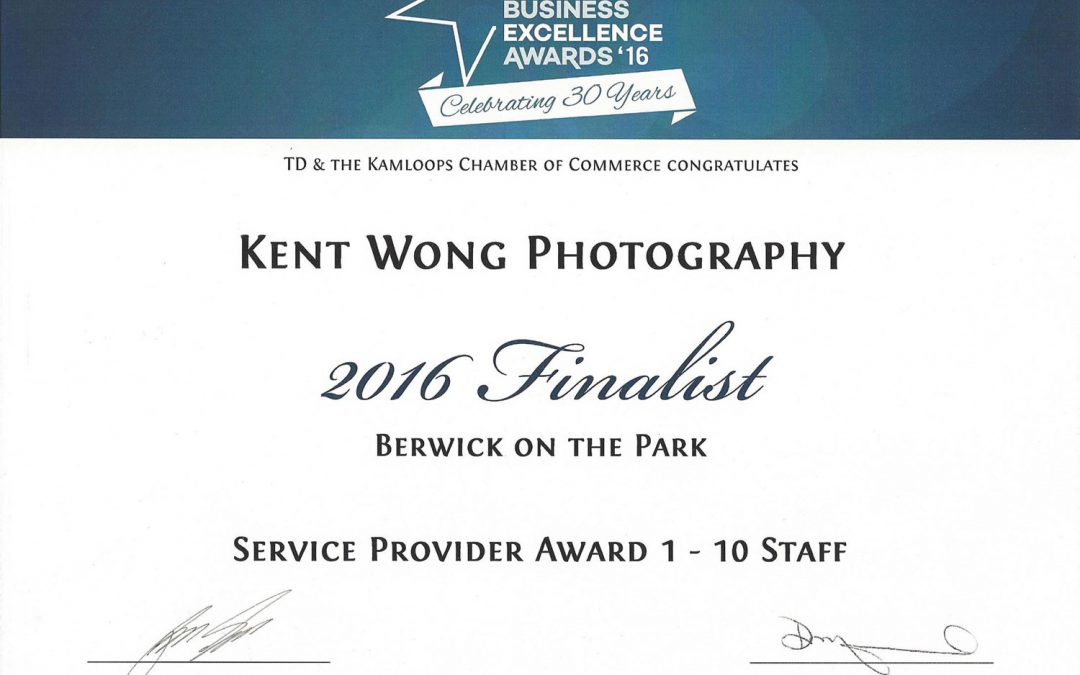 2016 KCOC Service Provider Finalist